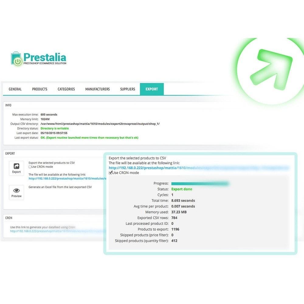 module - Porównywarki cen - Pricerunner - Eksport + Zaawansowane filtry - 6