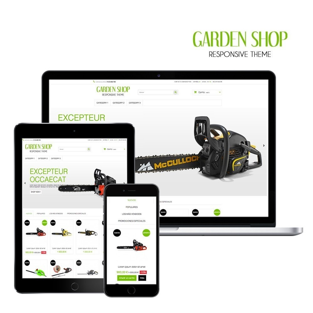 theme - Home & Garden - Garden Shop - 1