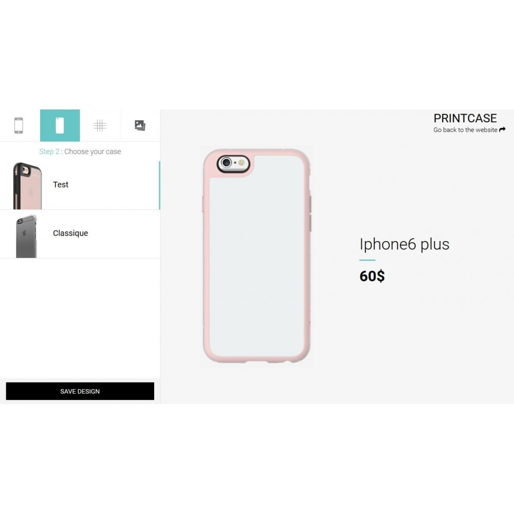module - Combinations & Product Customization - Custom Phone Case - PrintCase - 2