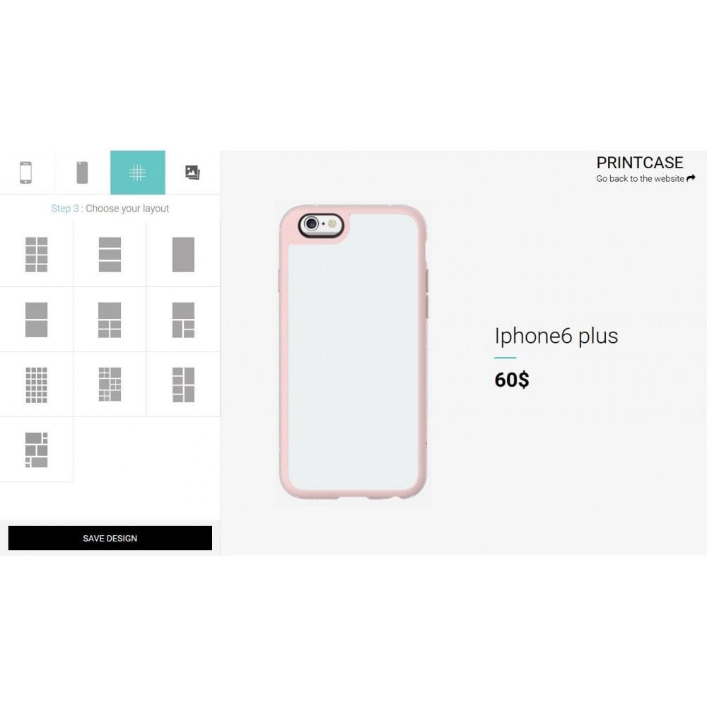 module - Déclinaisons & Personnalisation de produits - Coque téléphone personnalisé - PrintCase - 3