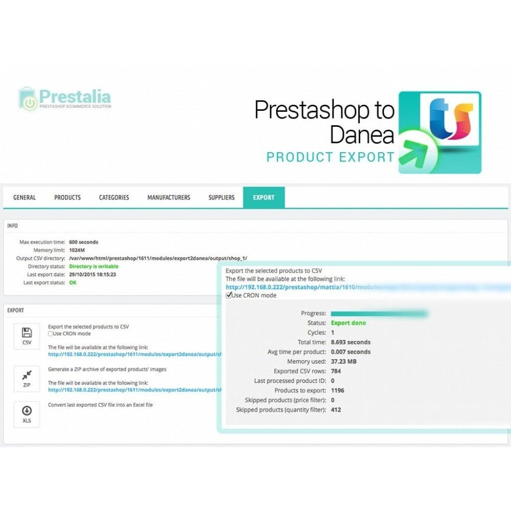 module - Импорт и Экспорт данных - Export from Prestashop to Danea - 6