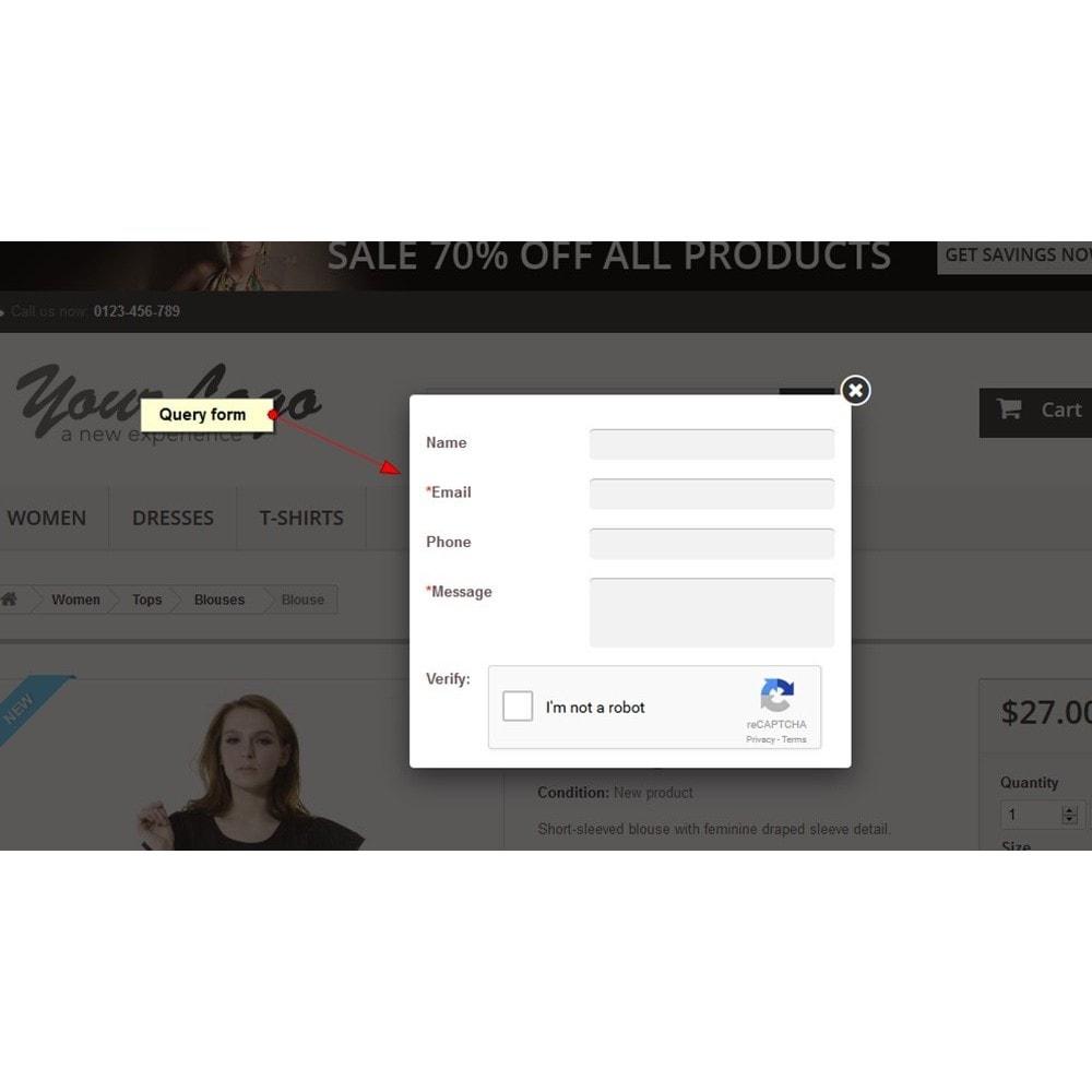 module - Formularz kontaktowy & Ankiety - Product Inquiry - 3
