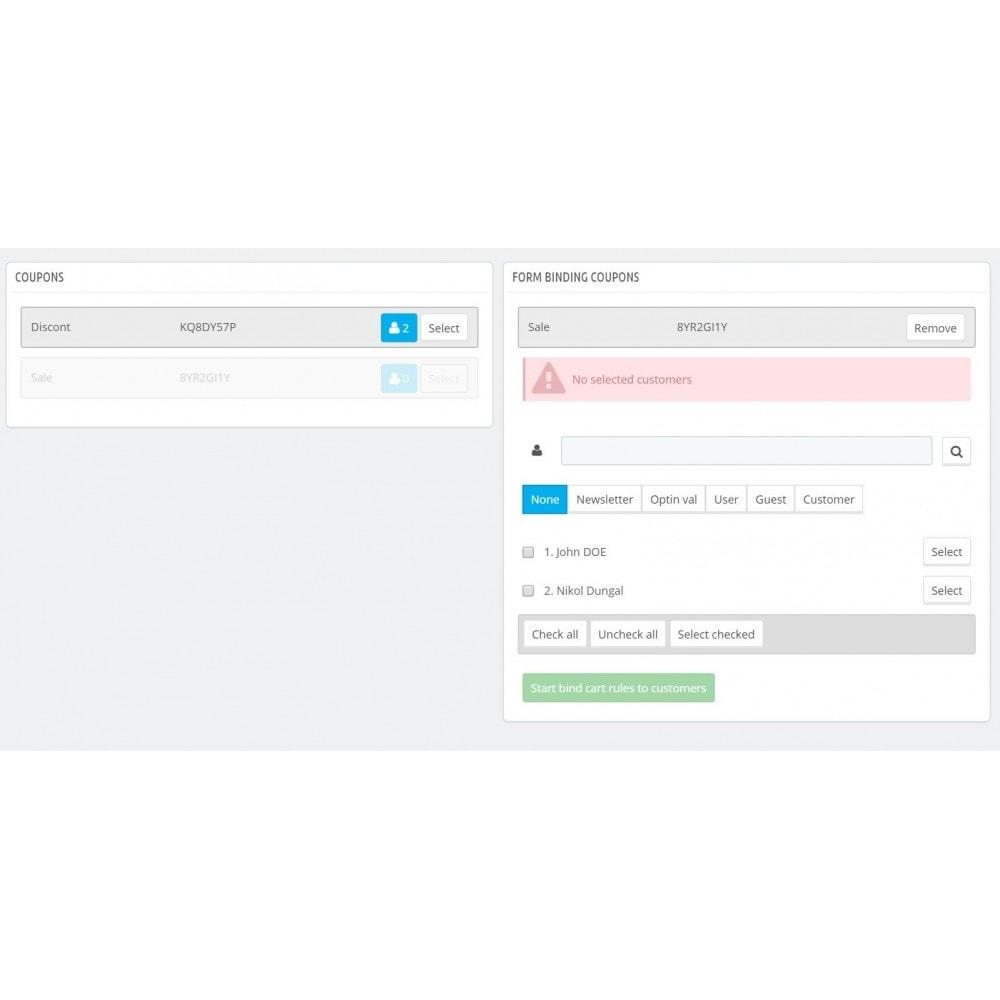 module - Kupony rabatowe w serwisach społecznościowych - Multiple Coupon - 2