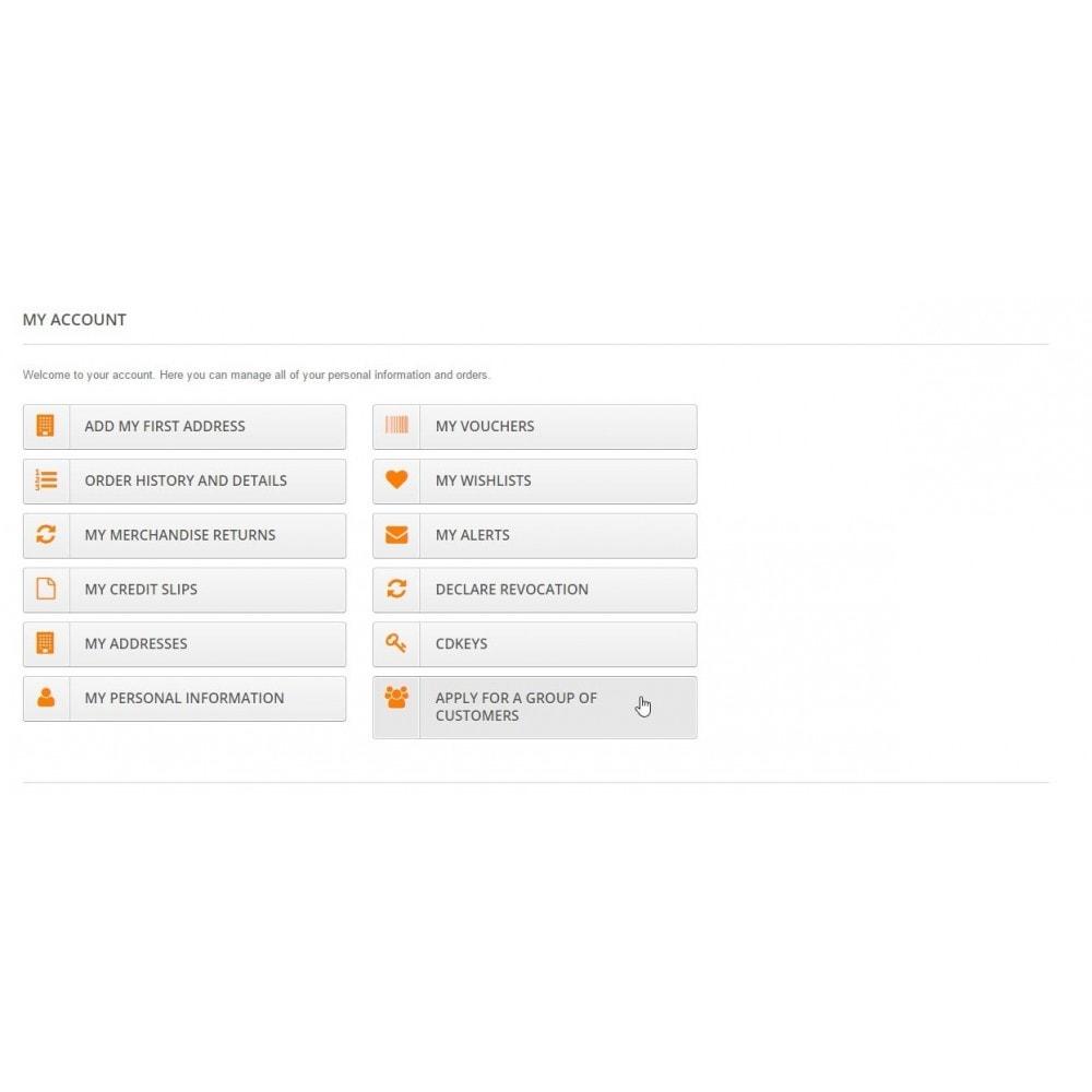 module - Gestione clienti - Group Code Generator - 5