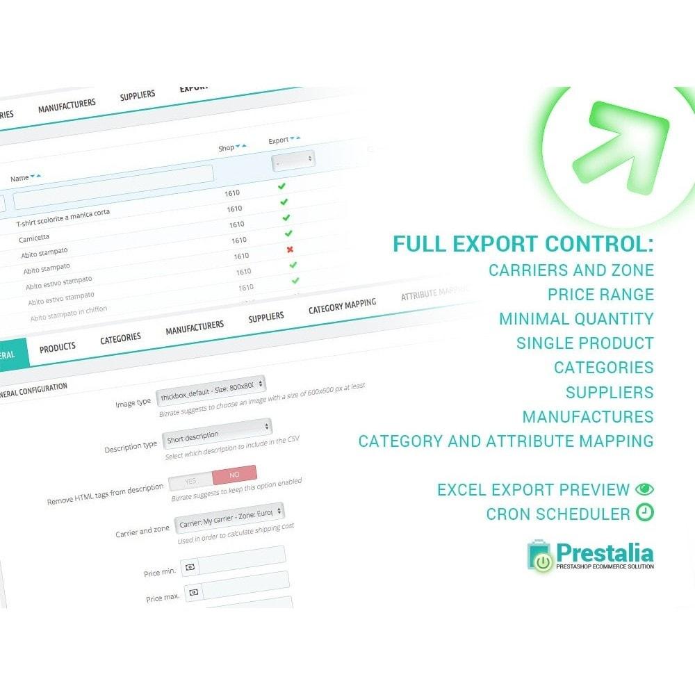module - Comparateurs de prix - Topnegozi - Export + Advanced Filters - 1