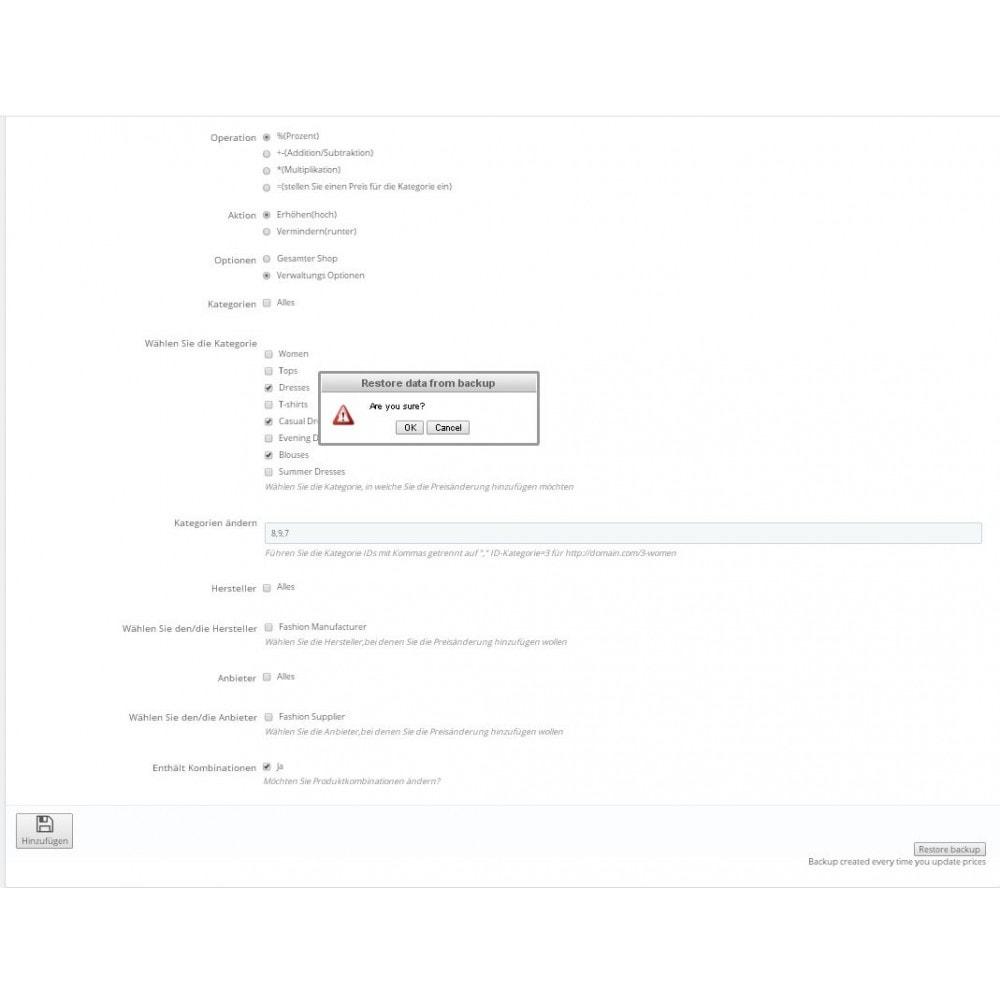 module - Quick Eingabe & Massendatenverwaltung - Massenpreisänderungs-Assistent - 3