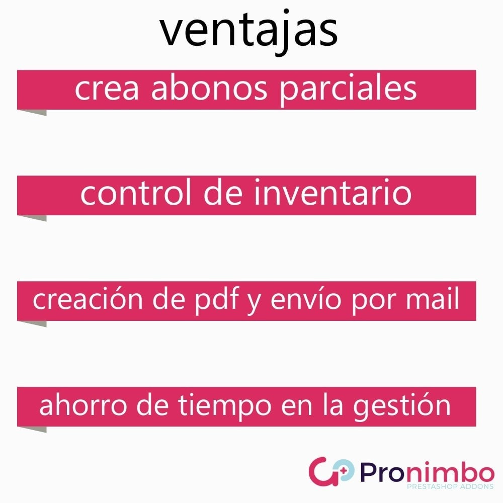 module - Contabilidad y Facturas - Facturas Rectificativas/Abonos.Totales y Parciales. - 4