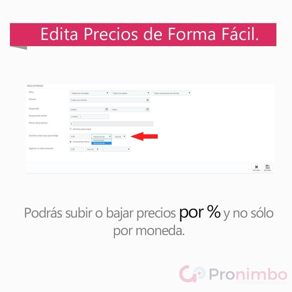 module - Edición Rápida y Masiva - Edición Masiva de Productos. - 5