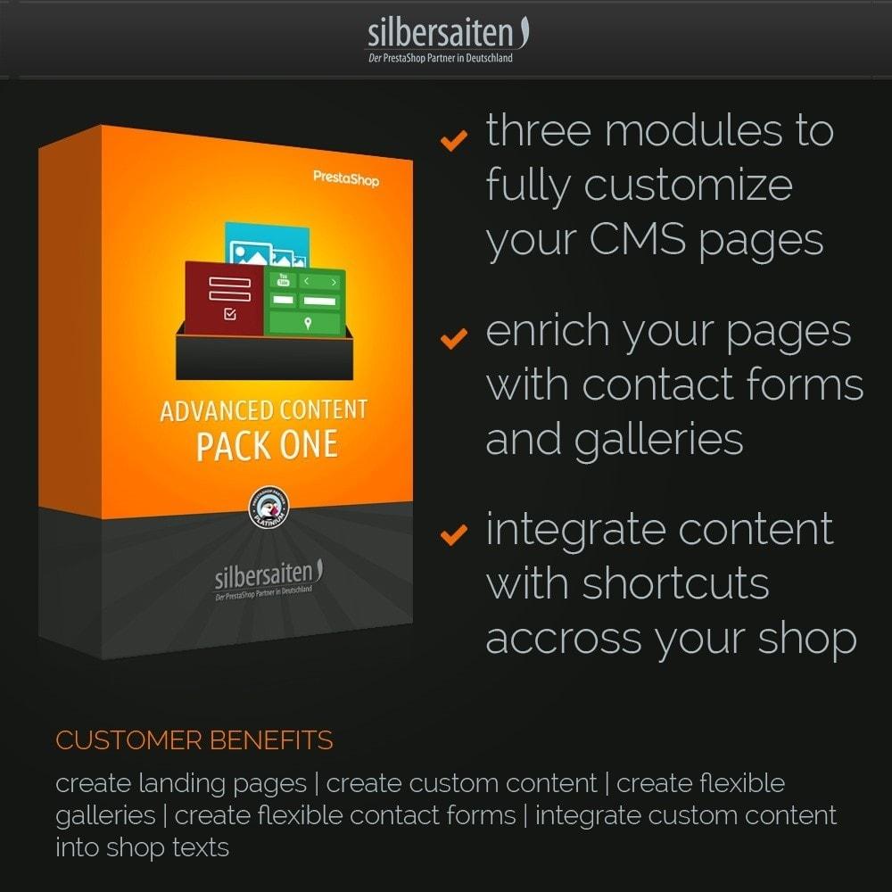 pack - Les offres du moment - Faites des économies ! - Advanced Content Pack One - 1