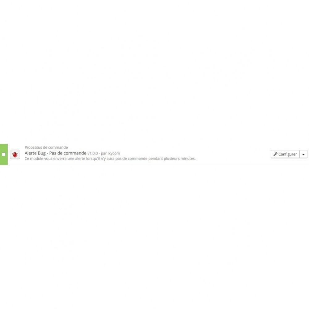 module - Gestion des Commandes - Alerte Bug - Pas de commande - 4