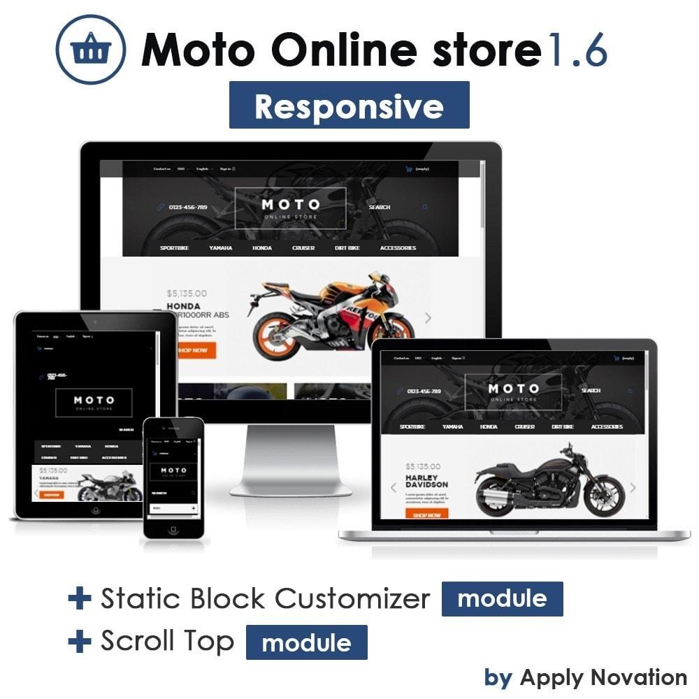 theme - Samochody - Moto and Bikes Online store - 1