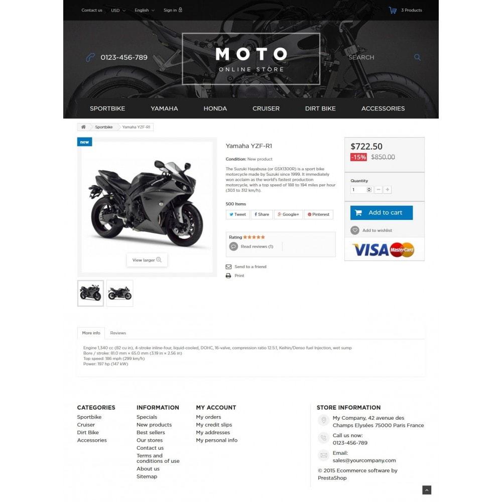 theme - Samochody - Moto and Bikes Online store - 7