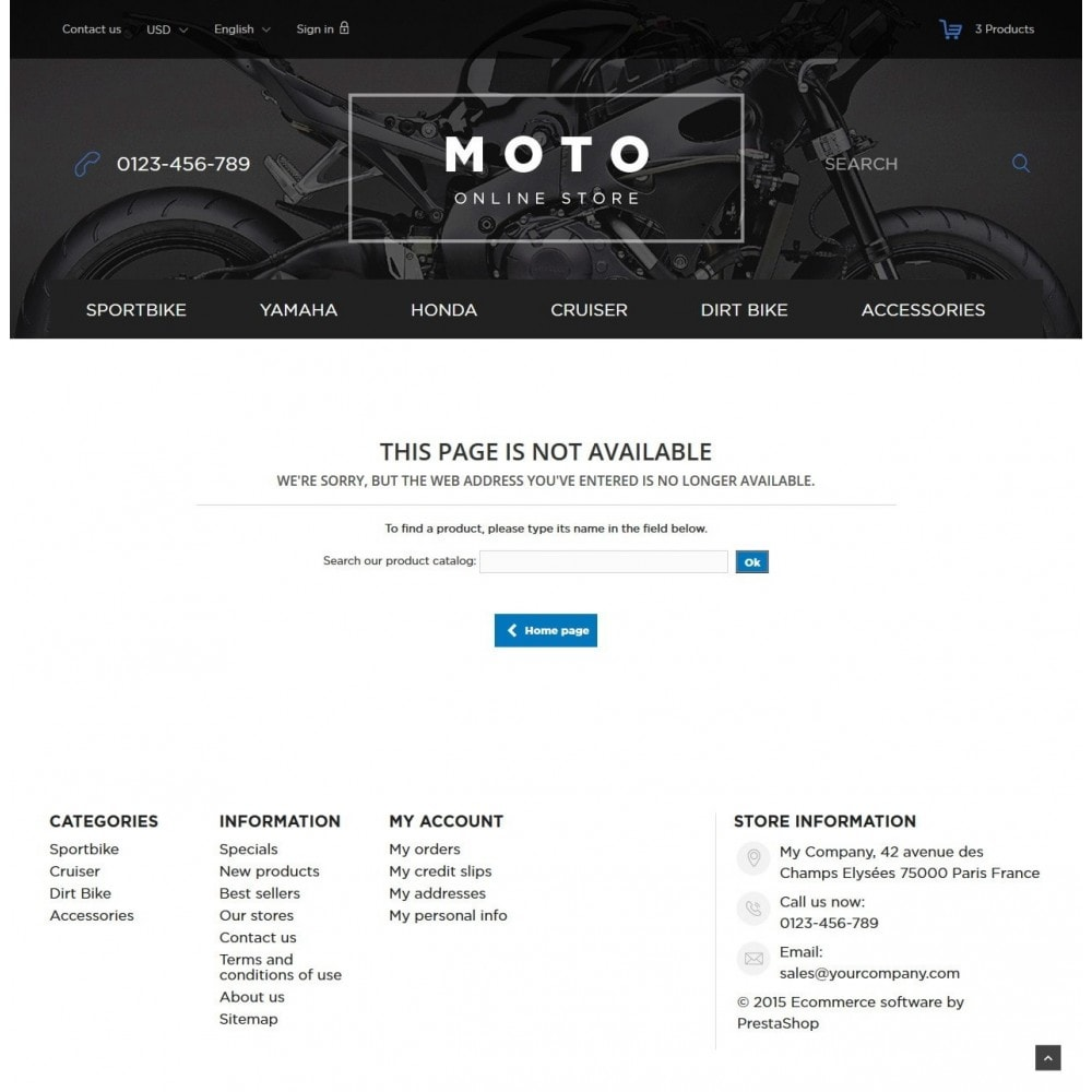 theme - Samochody - Moto and Bikes Online store - 9