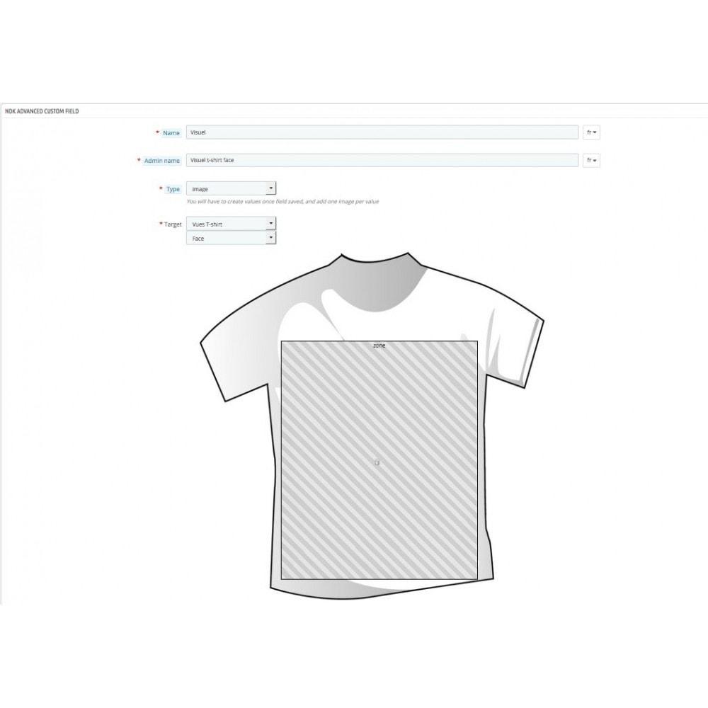 module - Вариаций и персонализации товаров - Product options, bundles and customization - 9