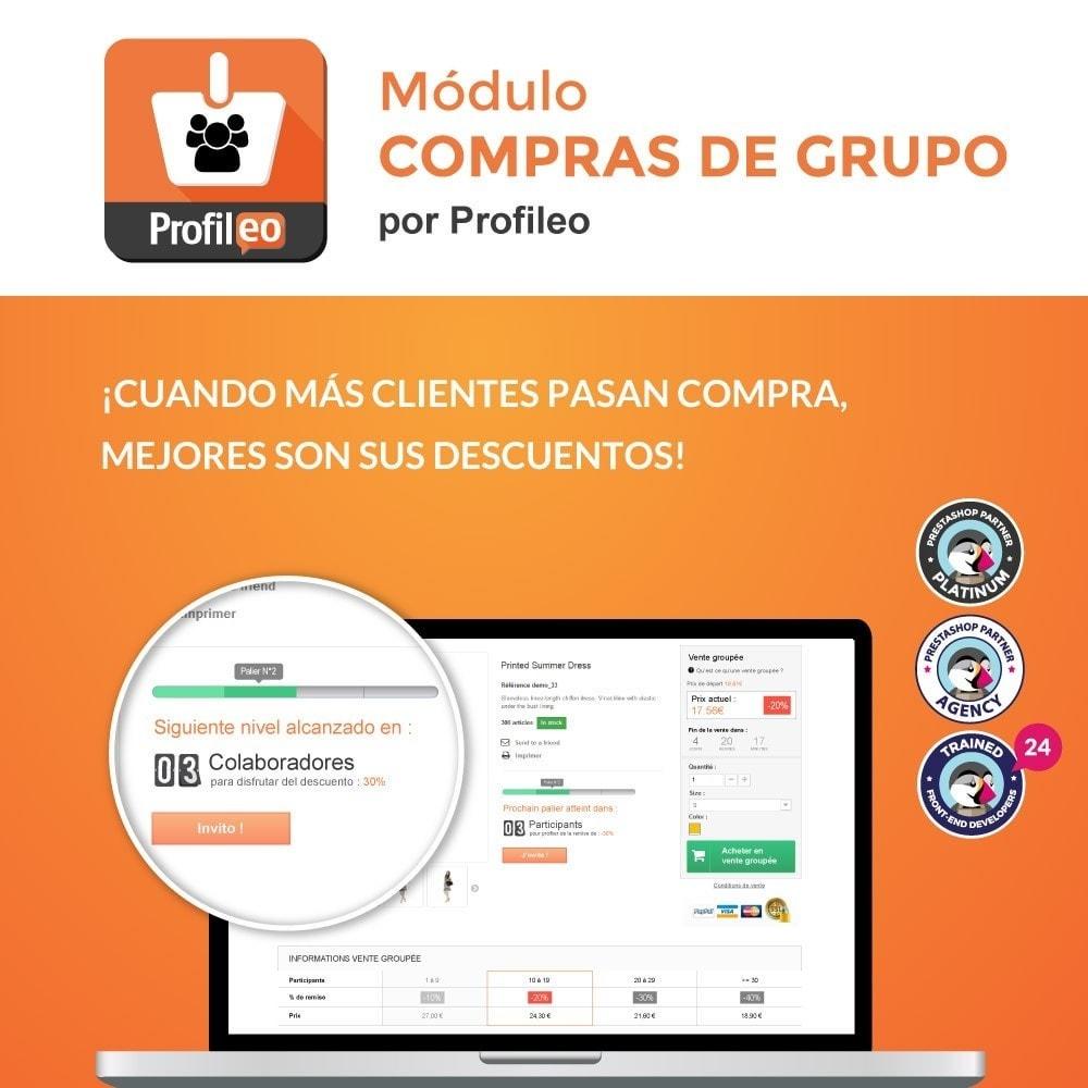 module - Promociones y Regalos - Ventas de Grupo - 1