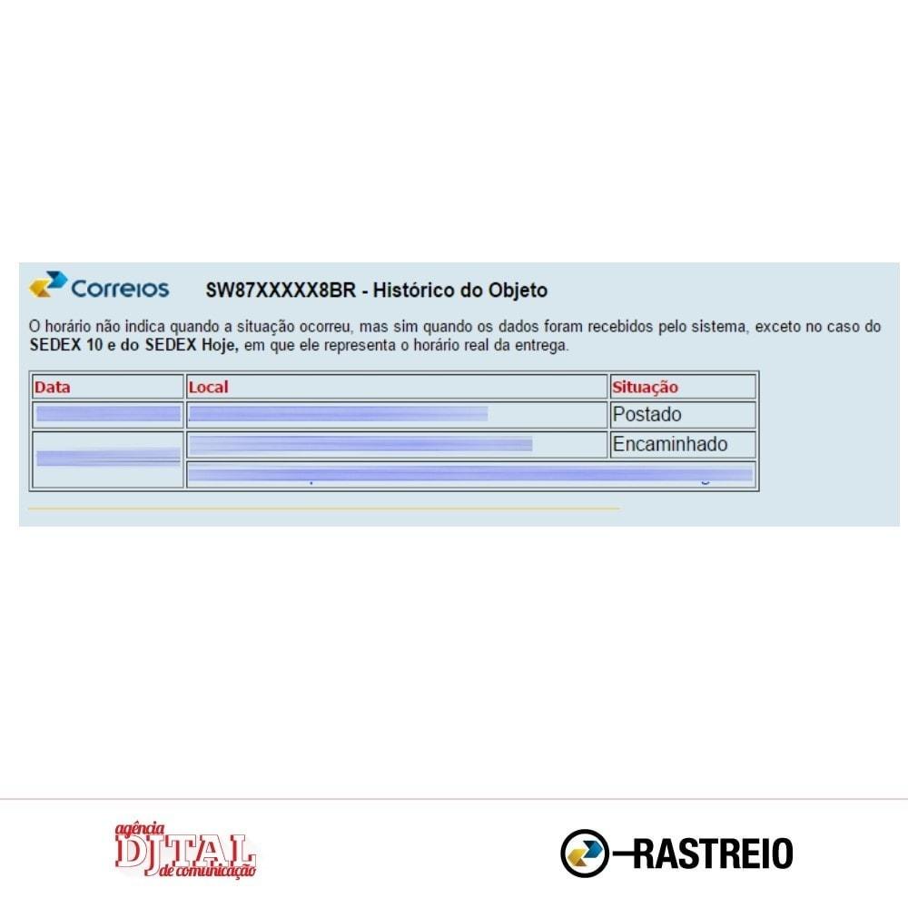 module - Tracciamento Spedizione - Brazilian Correios Tracking - 5