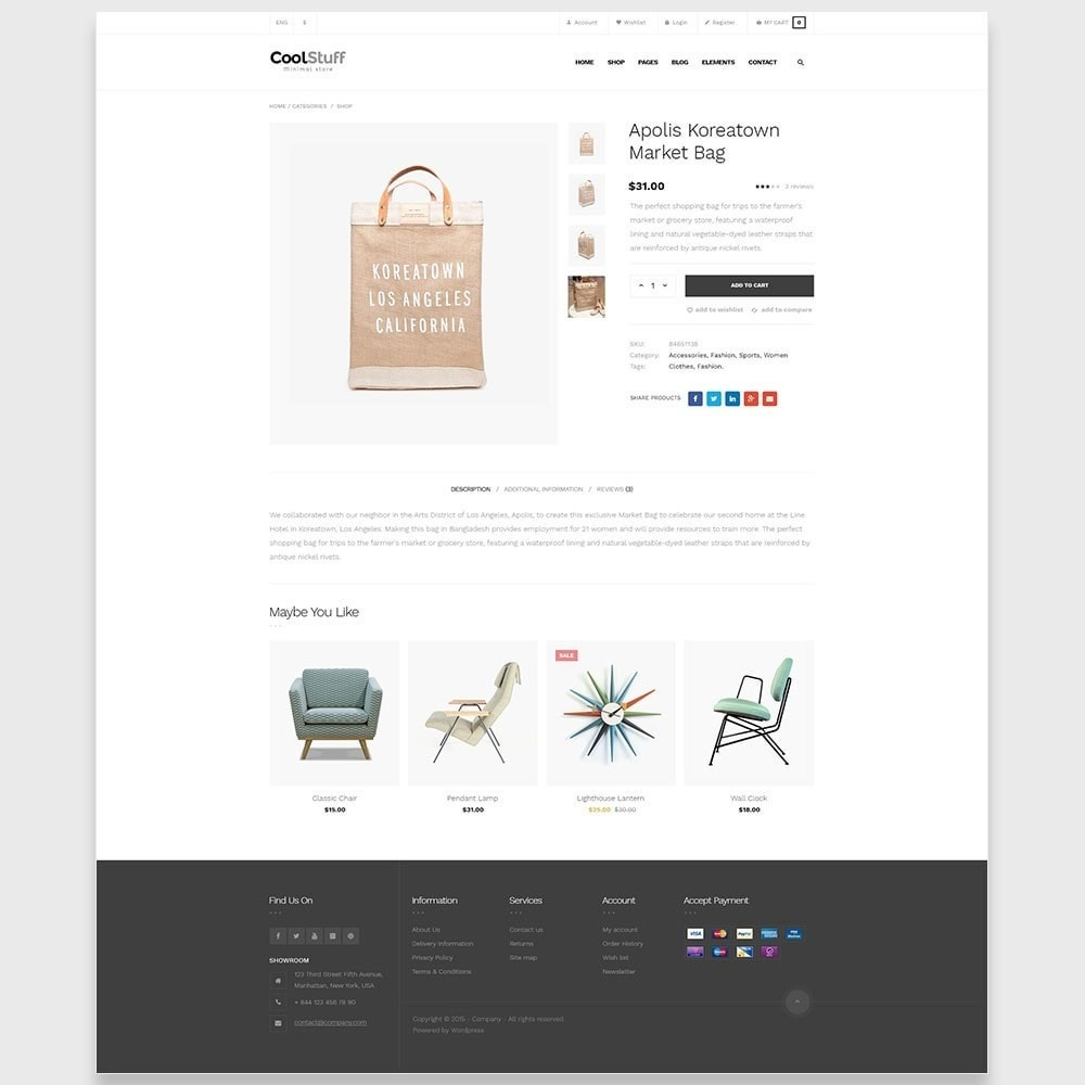 theme - Home & Garden - Leo Cool Stuff  - Furniture  Interior  Decoration - 5
