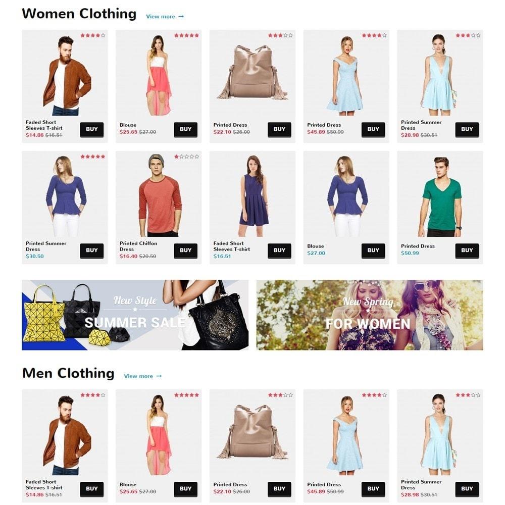 theme - Moda & Calçados - Zro02 - Fashion Responsive & Flexible - 4