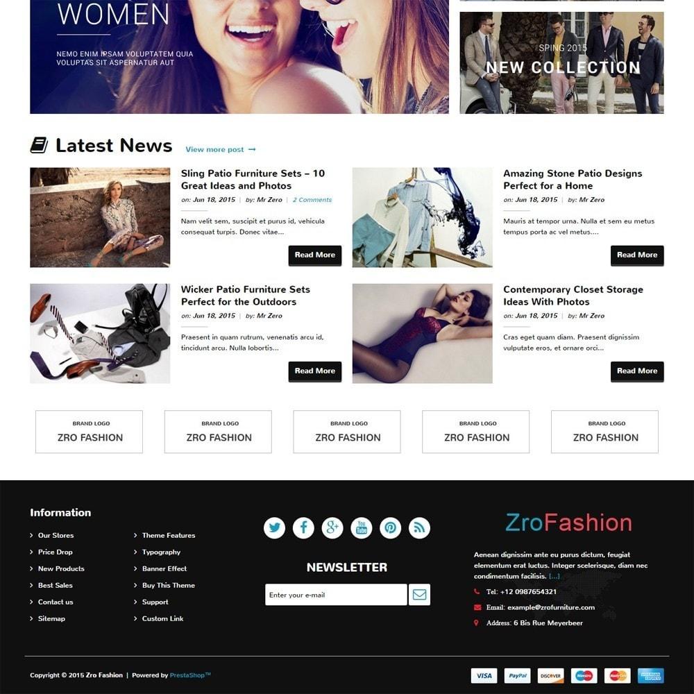 theme - Mode & Chaussures - Zro02 - Fashion Responsive & Flexible - 5