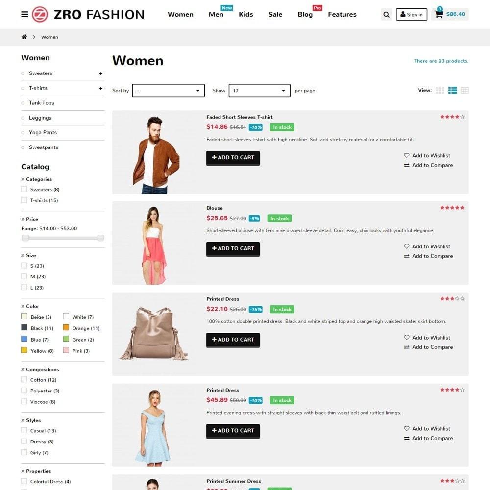 theme - Moda & Calçados - Zro02 - Fashion Responsive & Flexible - 7