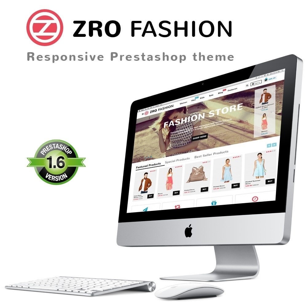 theme - Moda & Calçados - Zro02 - Fashion Responsive & Flexible - 1