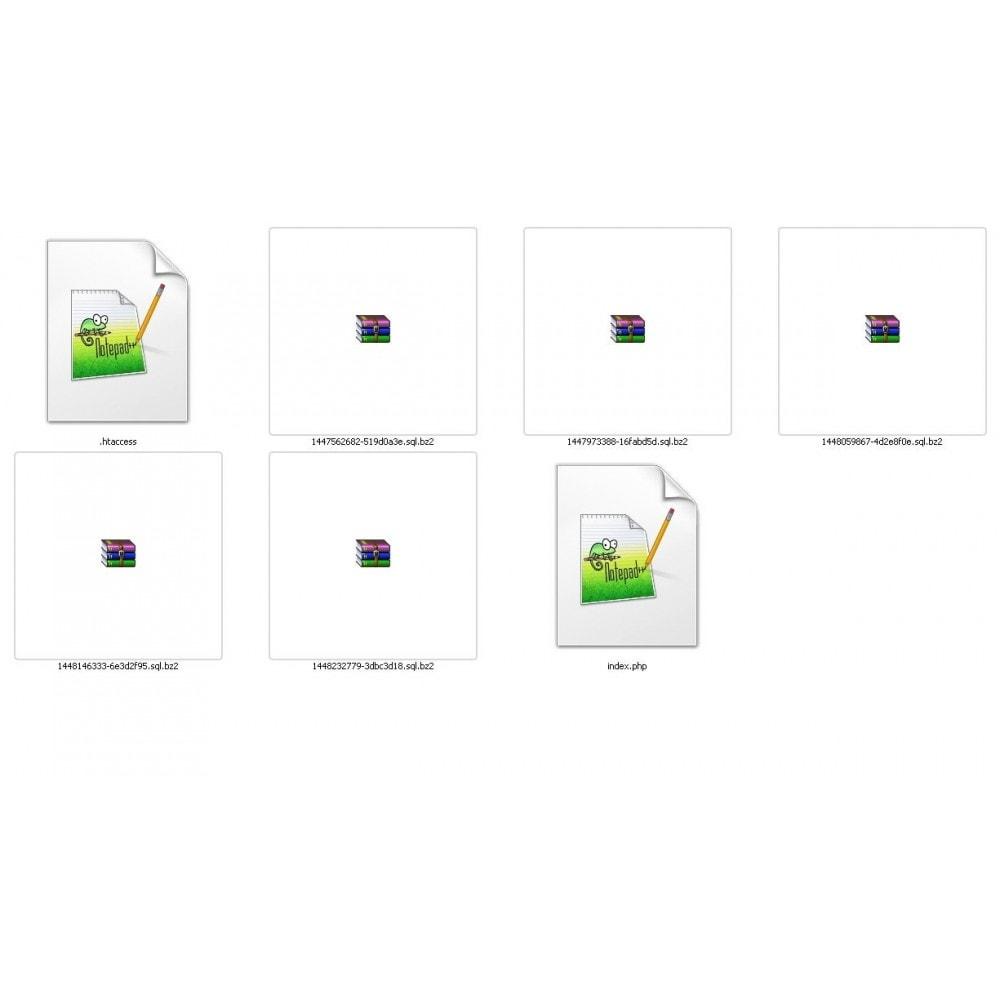module - Migração de Dados & Registro - DATABASE AUTO BACKUP - 7
