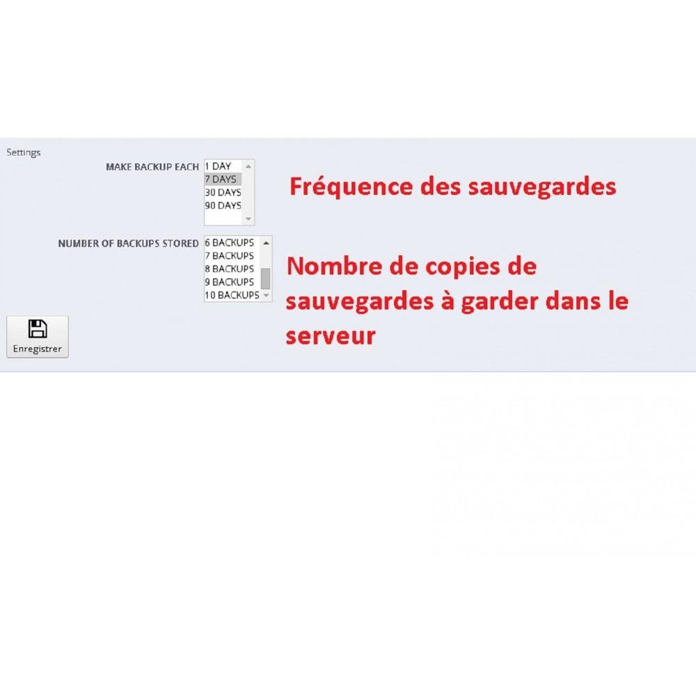 module - Migration de Données & Sauvegarde - DATABASE AUTO BACKUP - 5