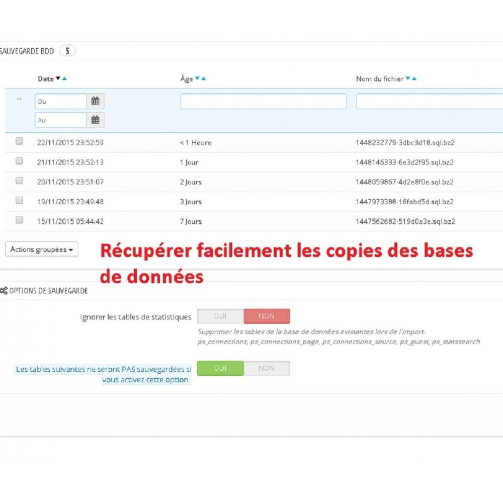 module - Migration de Données & Sauvegarde - DATABASE AUTO BACKUP - 6