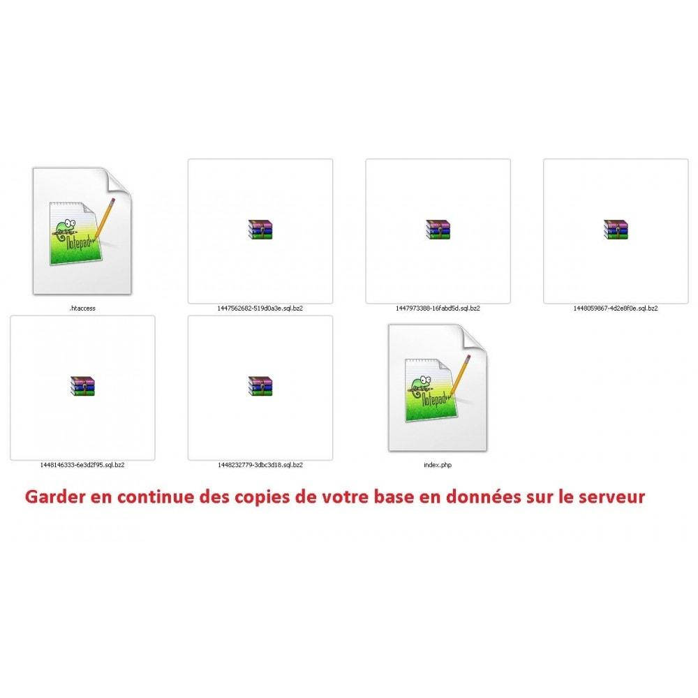 module - Migration de Données & Sauvegarde - DATABASE AUTO BACKUP - 7