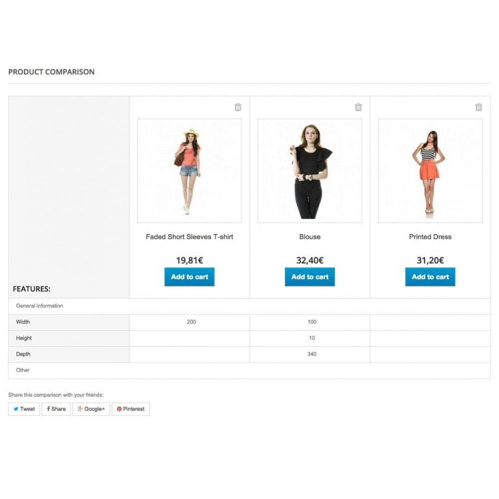 module - Altre informazioni & Product Tab - Full Features Groups (with Multiple Features option) - 8