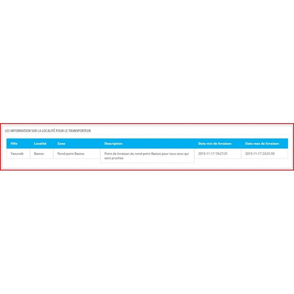 module - Point Relais & Retrait en Magasin - Livraison personnalisée pour zones non indexées - 6