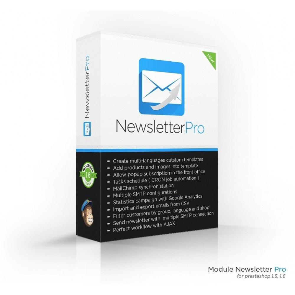 module - Nieuwsbrief & SMS - Newsletter Pro - 1