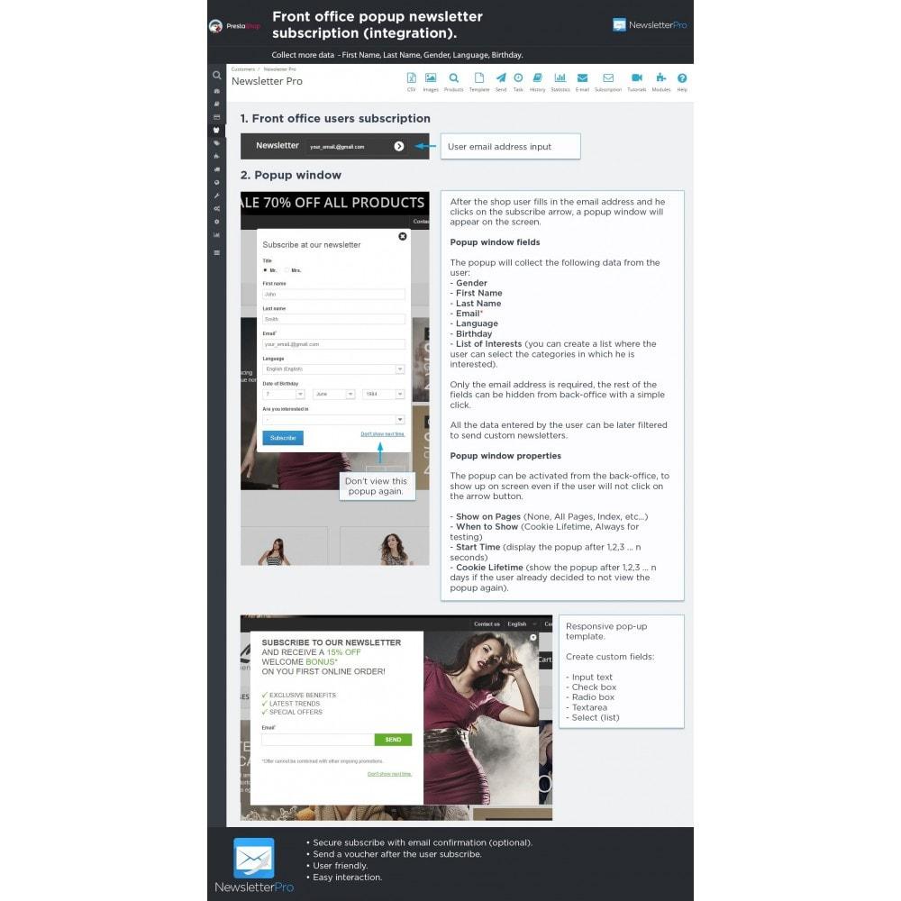 module - Nieuwsbrief & SMS - Newsletter Pro - 12