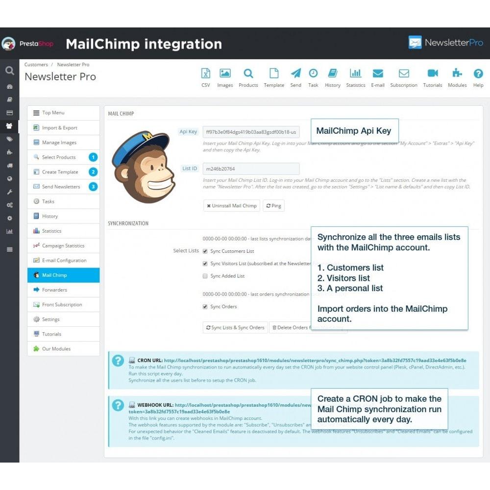 module - Nieuwsbrief & SMS - Newsletter Pro - 16