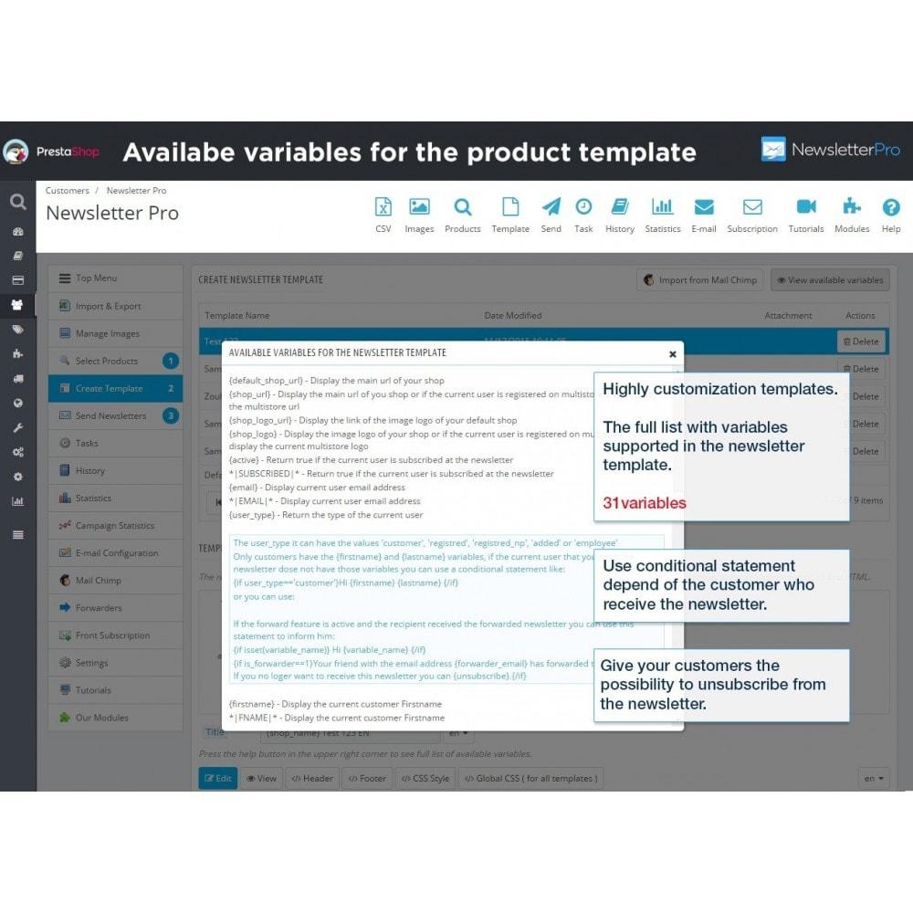 module - Newsletter & SMS - Newsletter Pro - 21