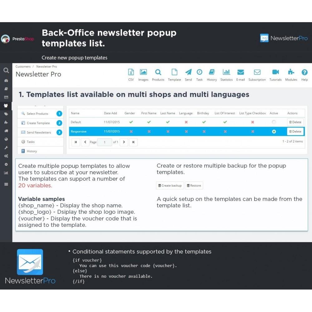 module - Nieuwsbrief & SMS - Newsletter Pro - 28