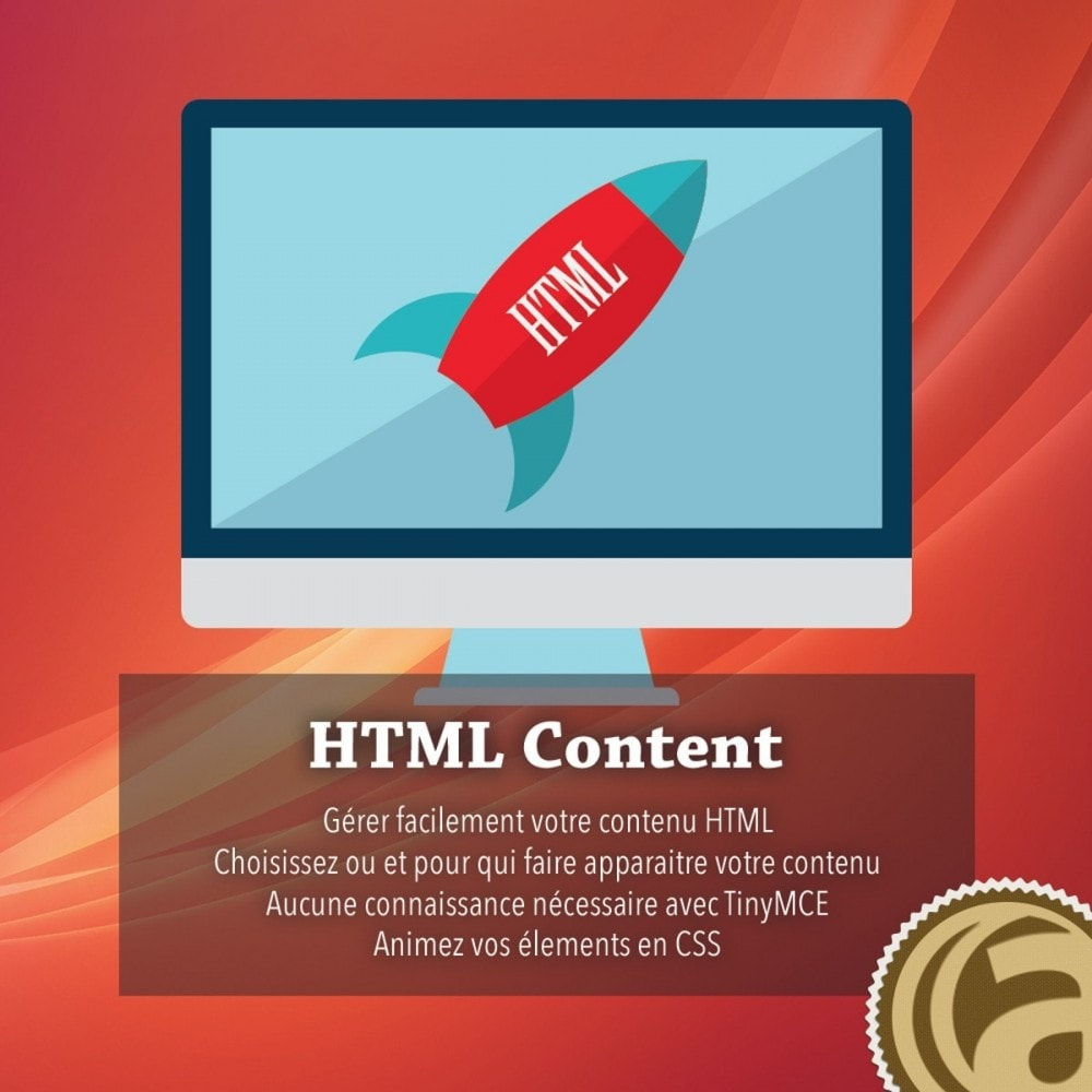 module - Outils d'administration - Contenu HTML - 1