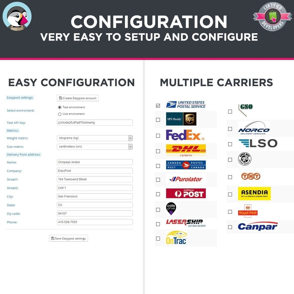 module - Preparation & Shipping - Easy Post Pro (DHL, GLS, DPD, Colissimo, RoyalMail etc) - 3