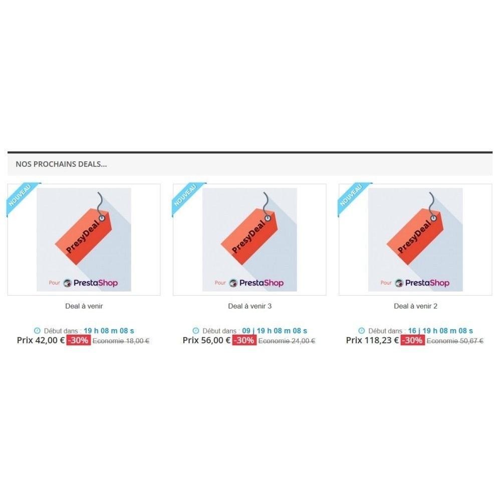 module - Закрытых и рекламных распродаж - PresyDeal - 2