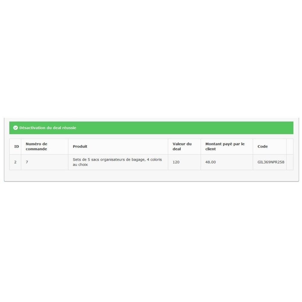 module - Закрытых и рекламных распродаж - PresyDeal - 7