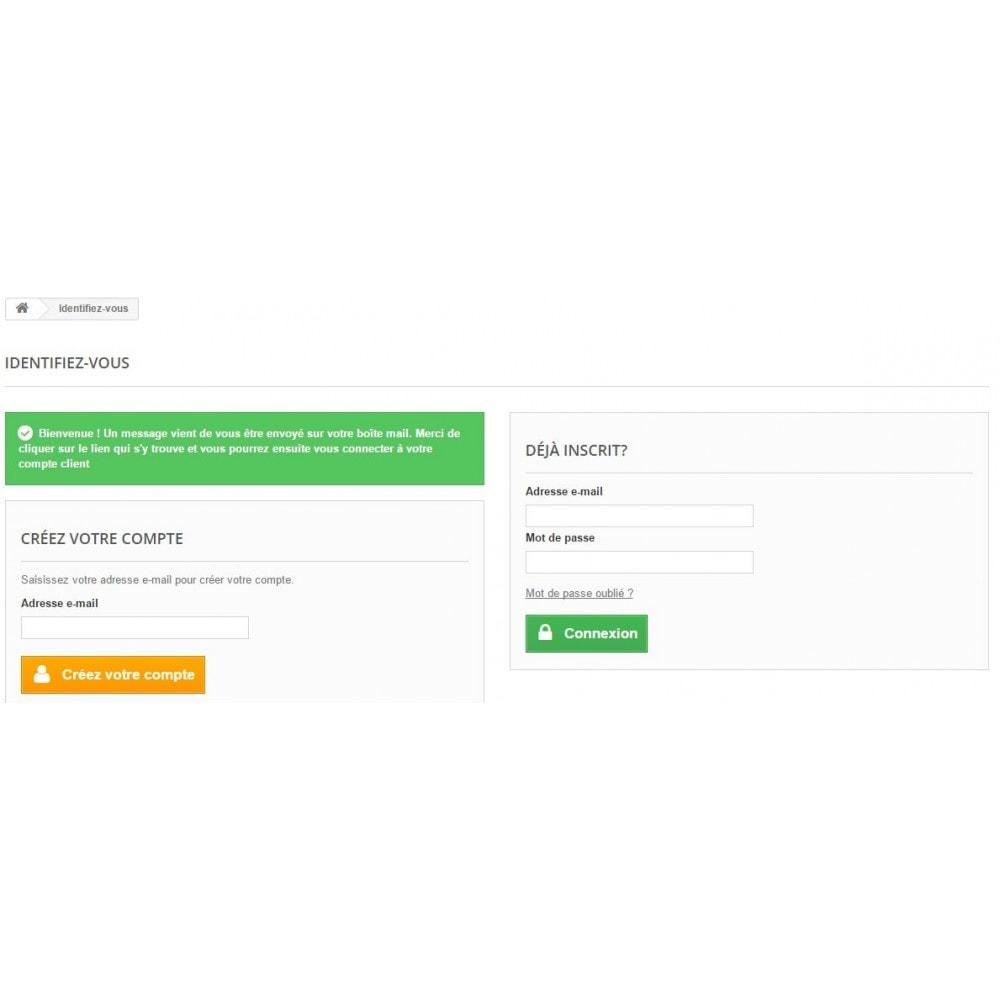 module - E-mails & Notifications - Confirmation d'inscription - 1