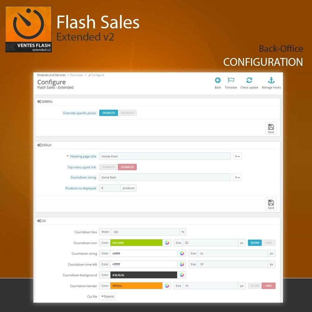 module - Закрытых и рекламных распродаж - Flash Sales - Extended - 2