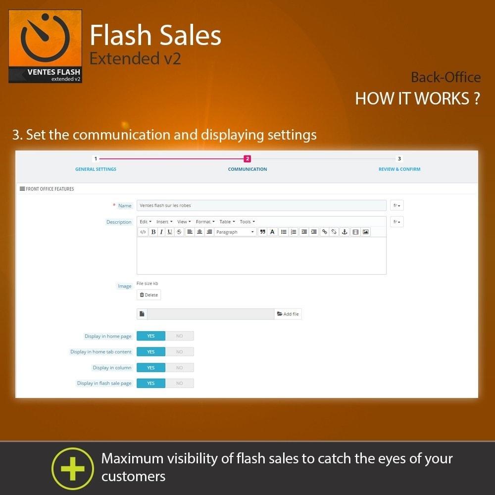 module - Закрытых и рекламных распродаж - Flash Sales - Extended - 4