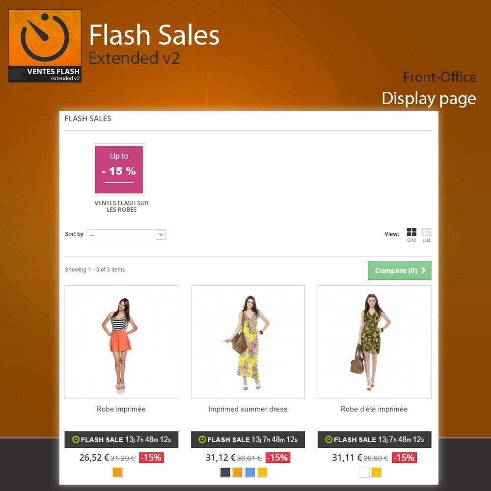 module - Закрытых и рекламных распродаж - Flash Sales - Extended - 8