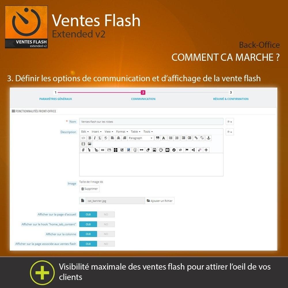 module - Ventes Flash & Ventes Privées - Ventes Flash - Etendu - 4