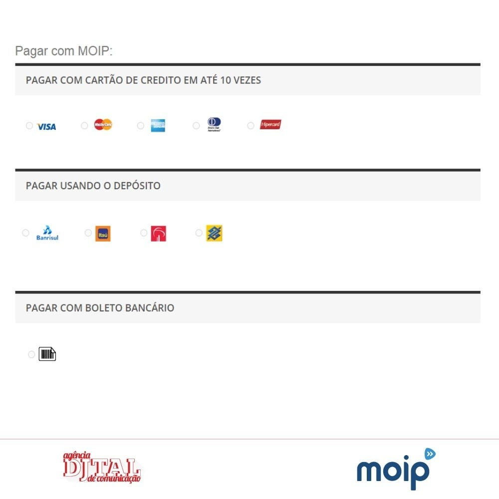 module - Paiement par Carte ou Wallet - Moip Transparent Checkout - 4