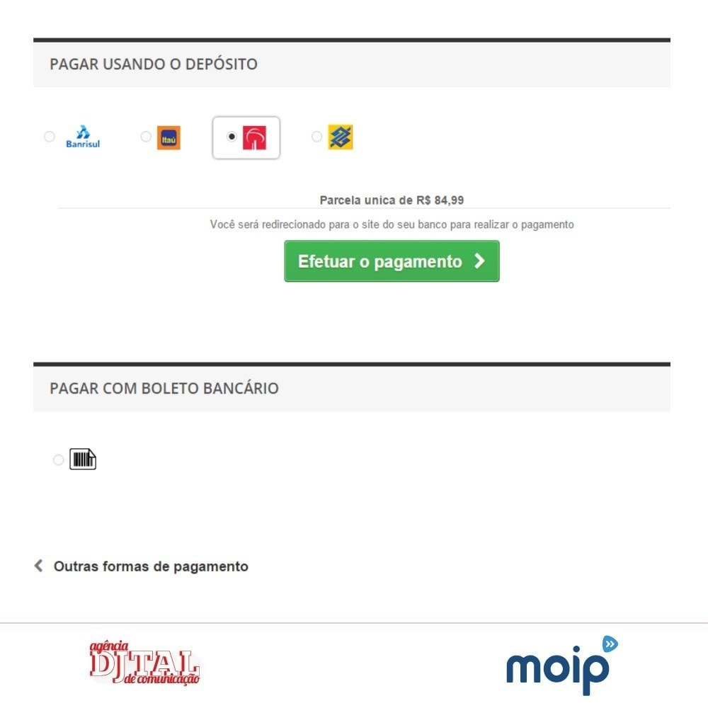 module - Paiement par Carte ou Wallet - Moip Transparent Checkout - 6