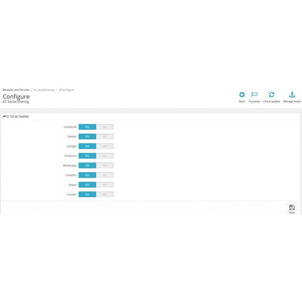 module - Przyciski udostępniania & Komentarze - WhatsApp and social sharing - 4