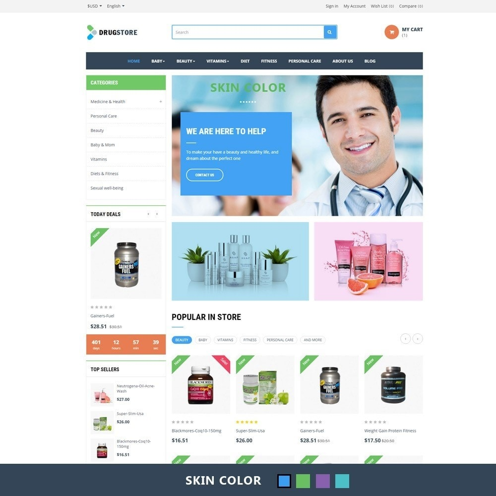 theme - Health & Beauty - Ap Drug Store - 2