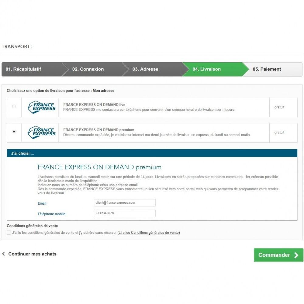 module - Preparación y Envíos - FRANCE EXPRESS ON DEMAND logos - 3